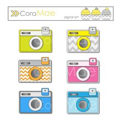 Camera clipart pastel Clip and 6 projects camera