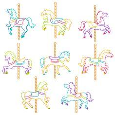 Carousel clipart pastel Pinterest Art More and Carousel