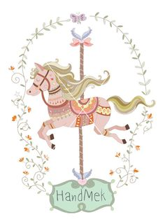 Carousel clipart victorian Illustrations JPEG 476 PNG Carousel