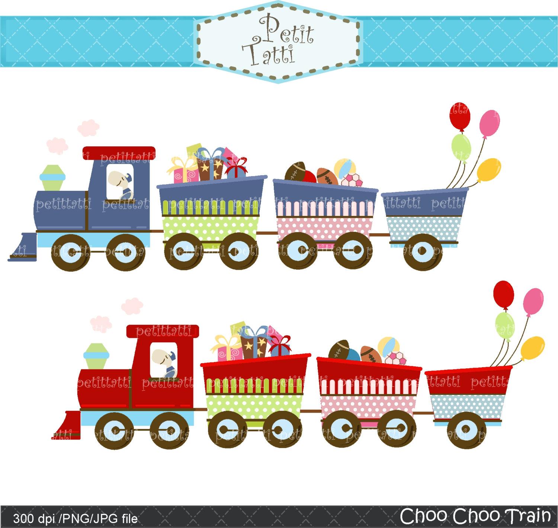 Pastel clipart choo choo train Clip Clip Choo Choo Train