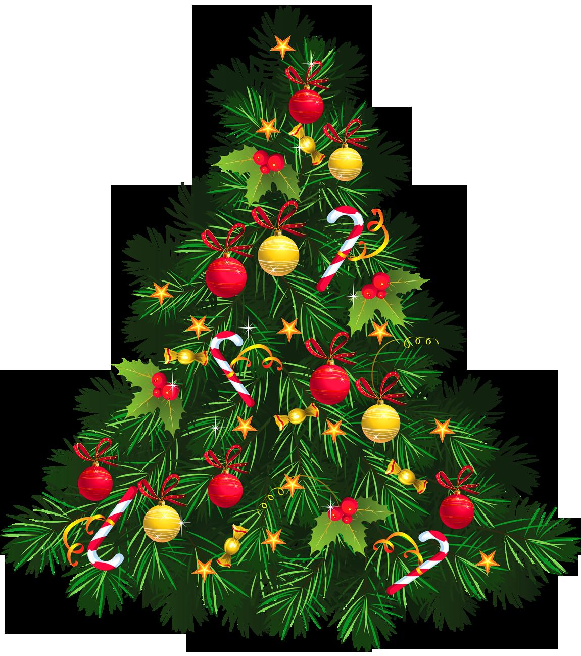 Christmas Tree clipart pastel Christmas Tree Ornaments Free Clip