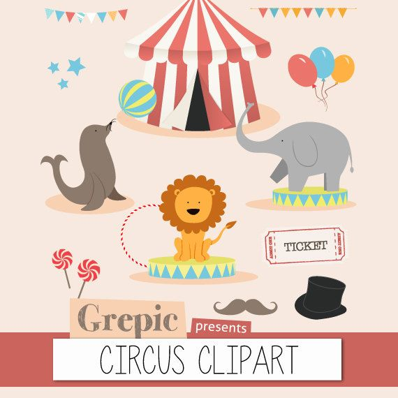 Circus clipart pastel About on images on Pin