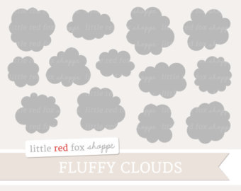 Clouds clipart pastel Pastel Pink Baby Shower Clip