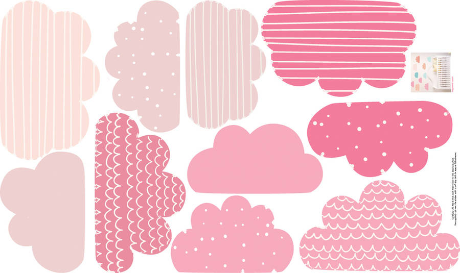 Pastel clipart cloud Wall Pastel clouds parkins wall