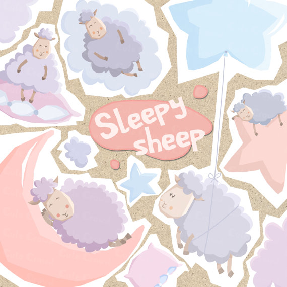 Pastel clipart cloud Kids on clip from nursery