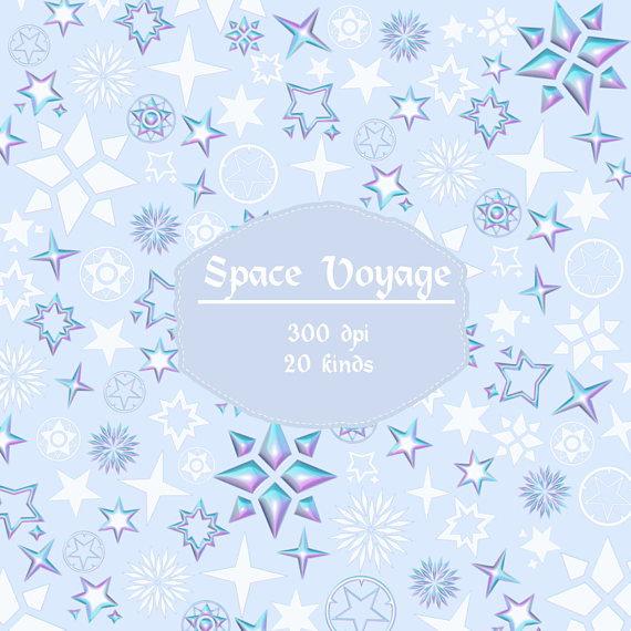 Pastel clipart colorful star Studio Clipart on Etsy Star