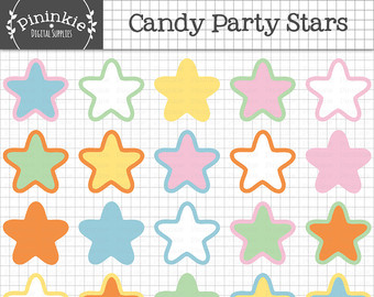 Pastel clipart colorful star Clip Pastel Baby Baby art