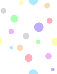 Dots clipart colored circle Clip In Polka Colors Art