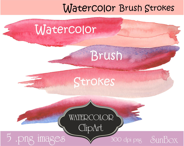 Pastel clipart pink lip Is Pastel Strokes Purple digital