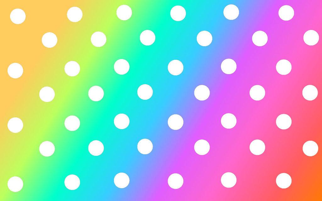 Dots clipart cute wallpaper Wallpaper  Wallpaper Rainbow Rainbow