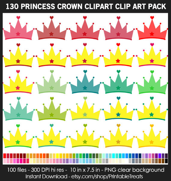 Pastel clipart princess tiara Commercial Princess Queen This Clipart