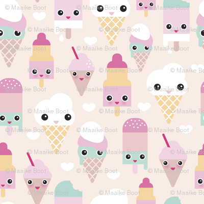 Pastel clipart wallpaper Popsicle Colorful sweet summer Colorful