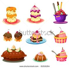 Pastry clipart sweet treat  art Images art Pastry