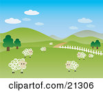 Pasture clipart Clipart Pasture Sheep Pasture cliparts
