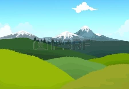Pasture clipart Pastures Pastures collection clipart Vector