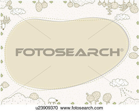Pasture clipart background Stock pasture bulletin background Illustration