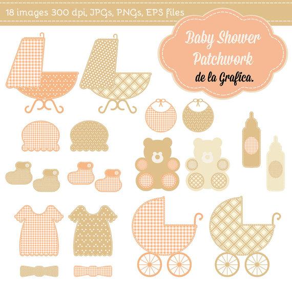 Patchwork clipart baby shower Clip $5 shower patchwork Art