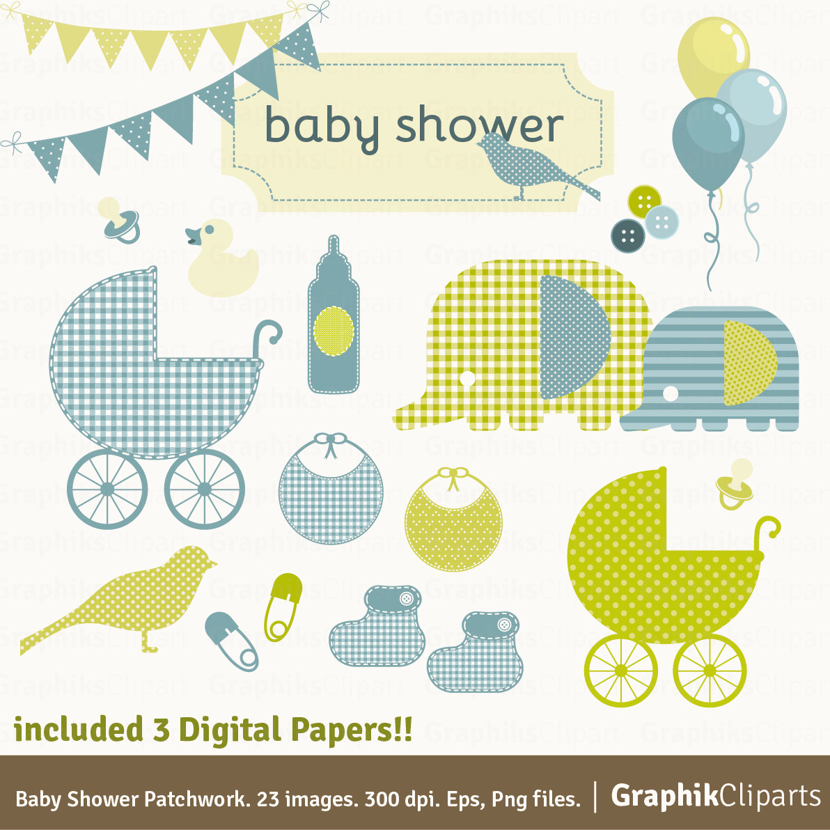 Patchwork clipart baby shower Patchwork is