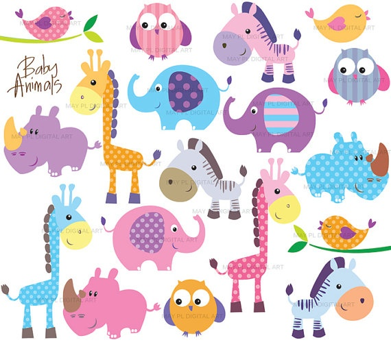 Zoo clipart cute animal Cute images Art Clip Animals