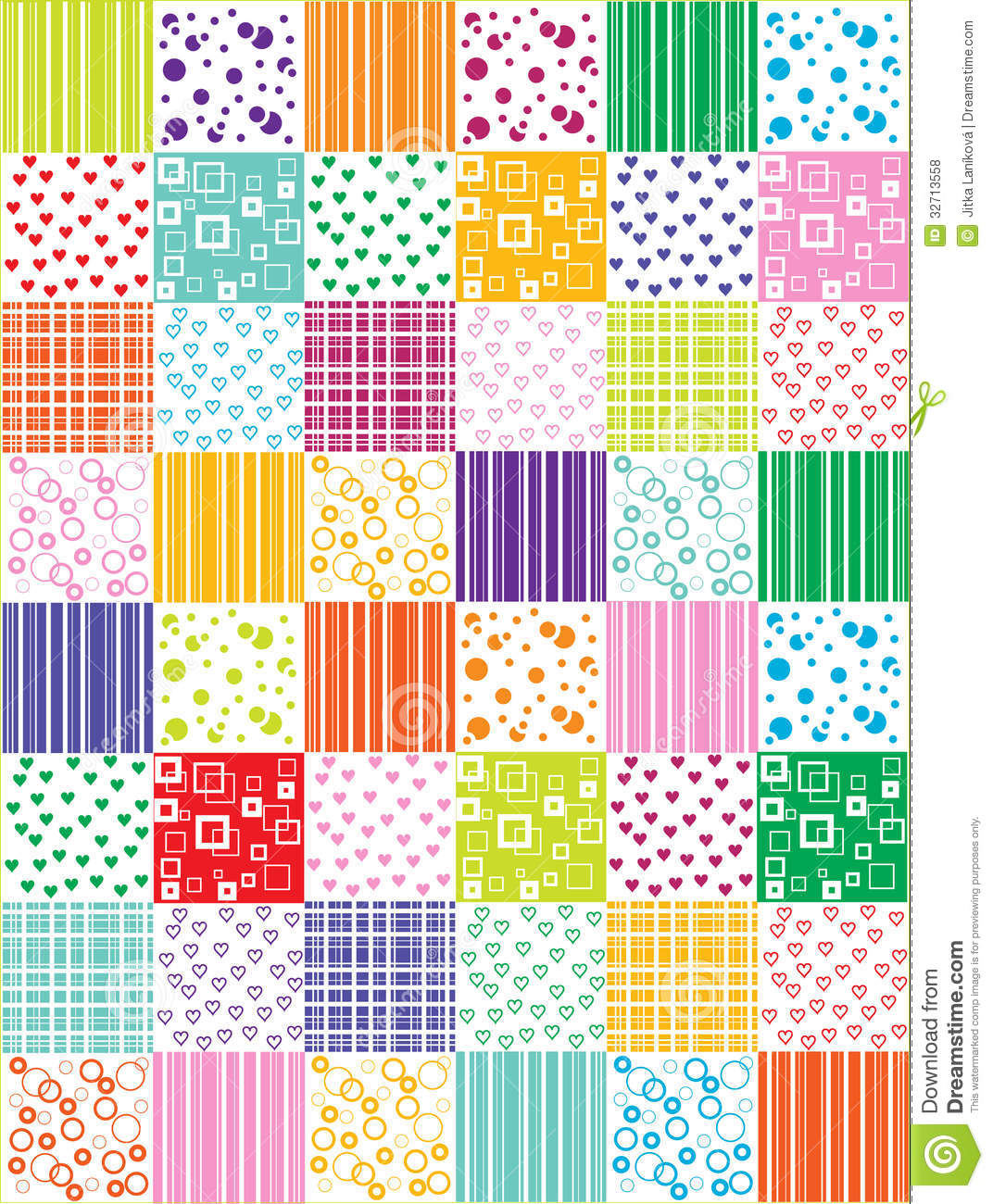 Patchwork clipart colorful Free vintage backgrounds Patchwork Clipart