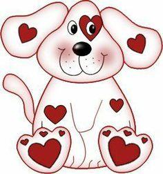 Animl clipart valentine MISC ANIMALS ART para ART