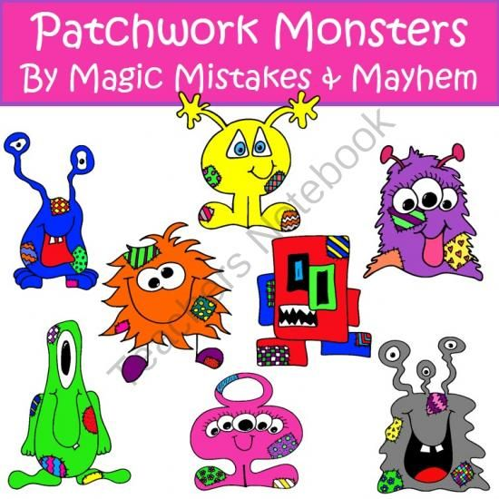 Patchwork clipart cute From Mayhem TeachersNotebook about on