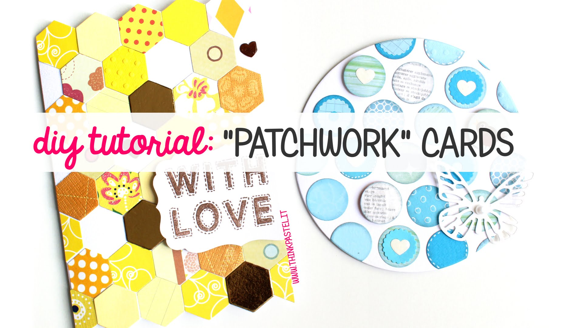 Patchwork clipart diy Cards