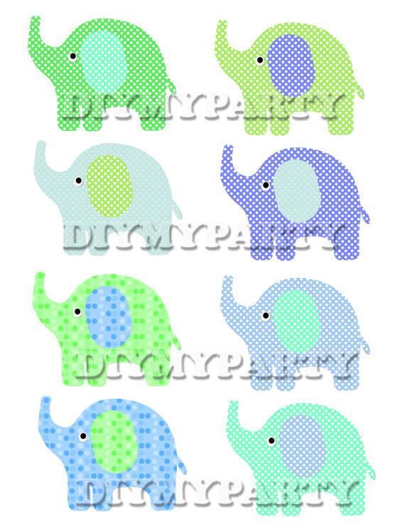 Patchwork clipart diy File elephant Elephant scrapbooking party