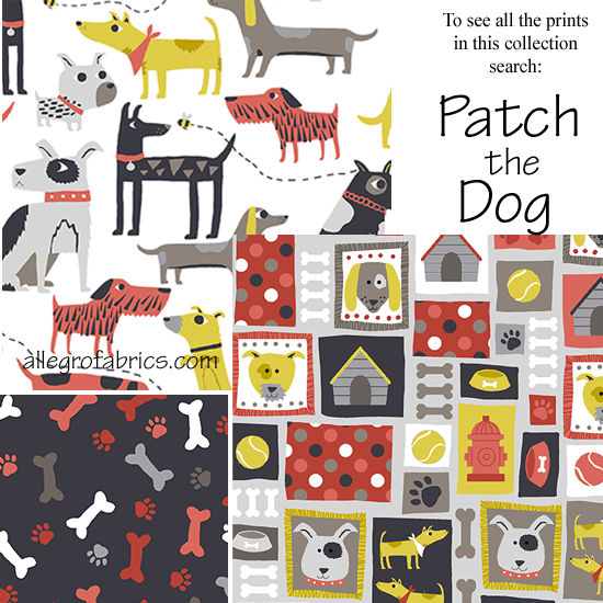 Patchwork clipart fabric patch Dog Quilt Dog  Collage