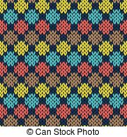Patchwork clipart knitting Seamless seamless color Knitting