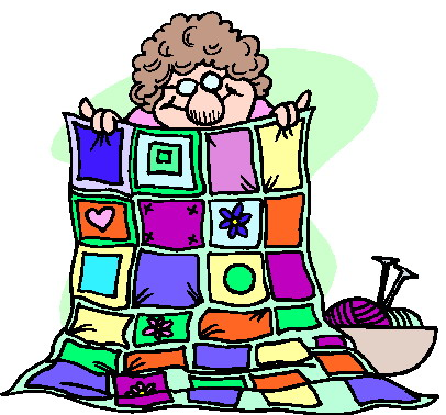 Patchwork clipart knitting Free 3 Art Quilt Free