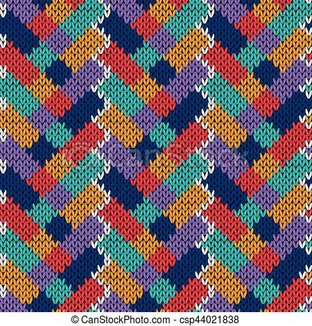 Patchwork clipart knitting Knitting  csp44021838 patchwork Seamless