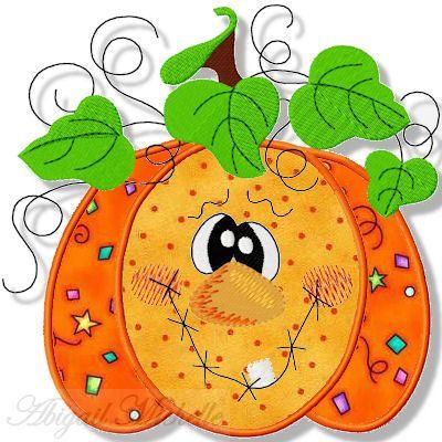Patchwork clipart pumpkin Sizes! ideas Applique Pumpkin Best