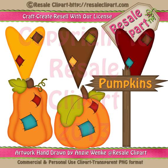 Patchwork clipart pumpkin (Digital  Etsy Pumpkins MaddieZee