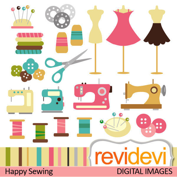 Patchwork clipart sewing Patchwork  vetor de Costurar