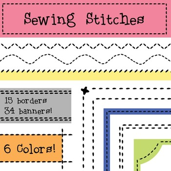 Patchwork clipart sewing Art Stitches pigknit Clip Art