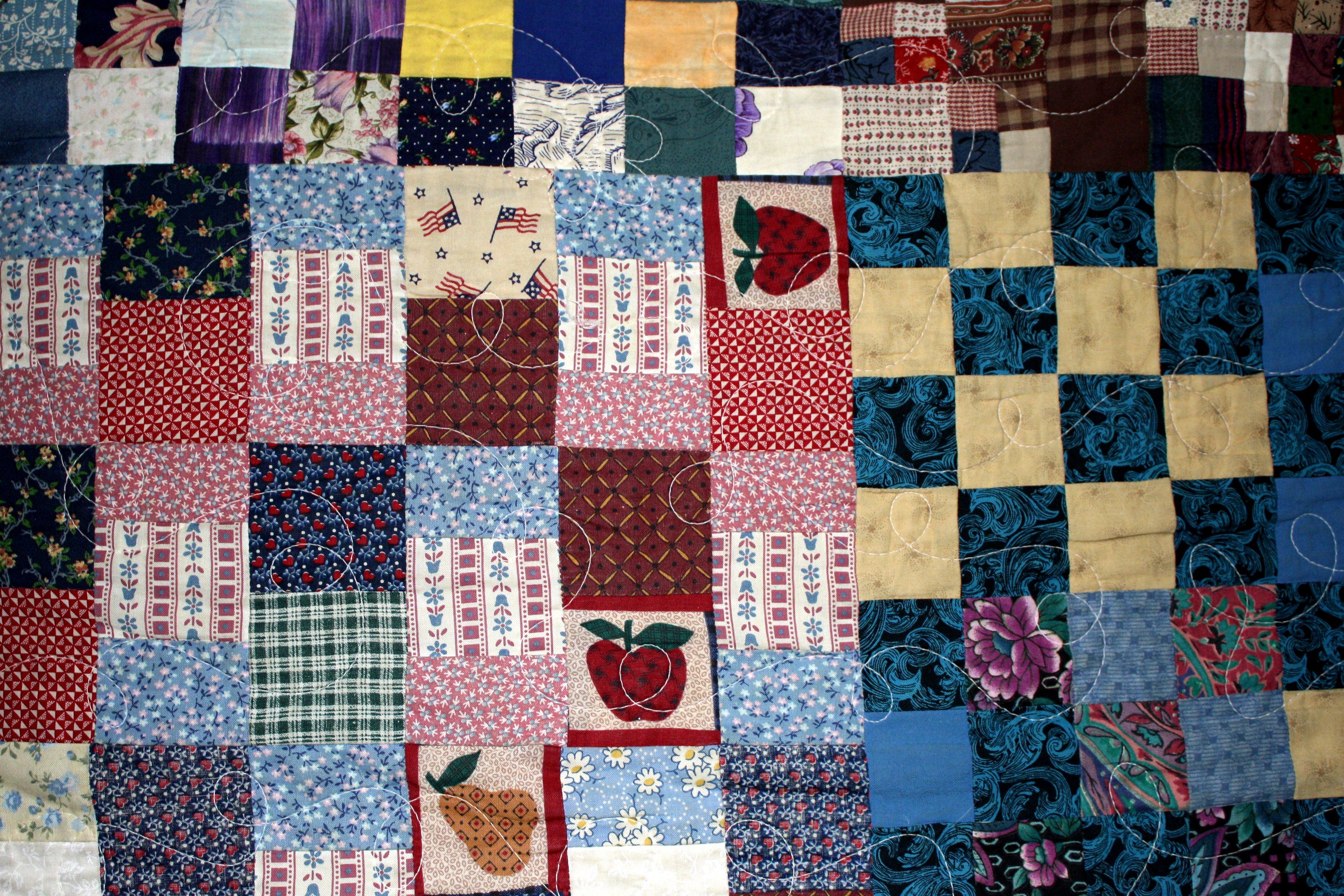 Patchwork clipart texture Domain Photos Quilts Photographs Texture