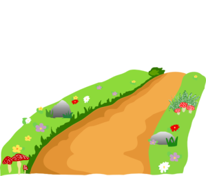 Pathway clipart countryside Clipart Path Clipart Panda Free