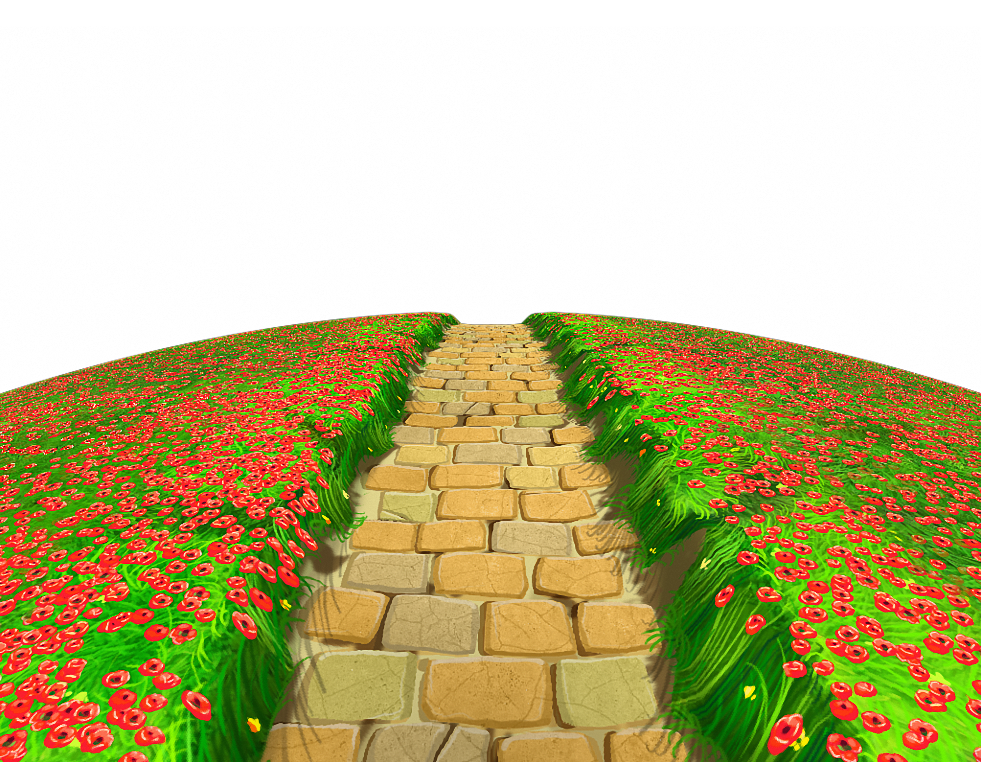 Walkway clipart curved path Clipart Path Path  Free