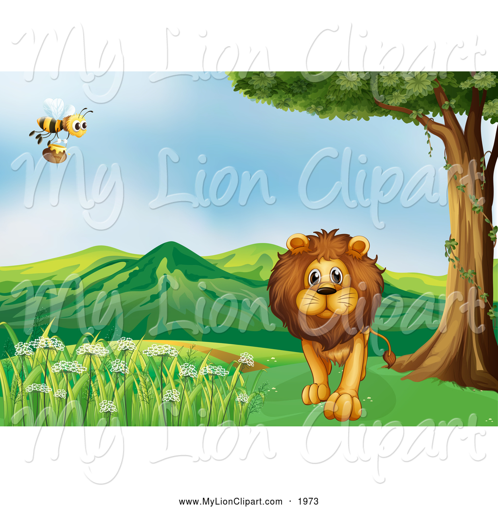 Bee clipart path Path by Lion near Walking