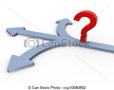 Path clipart icon Selection 3d Illustration question of