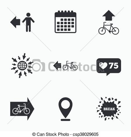Path clipart icon Clipart csp38029605 trail icon road