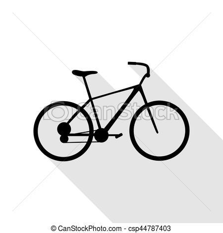 Path clipart icon Clipart csp44787403 shadow sign Bike