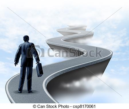 Path clipart uncertainty Business and winding a