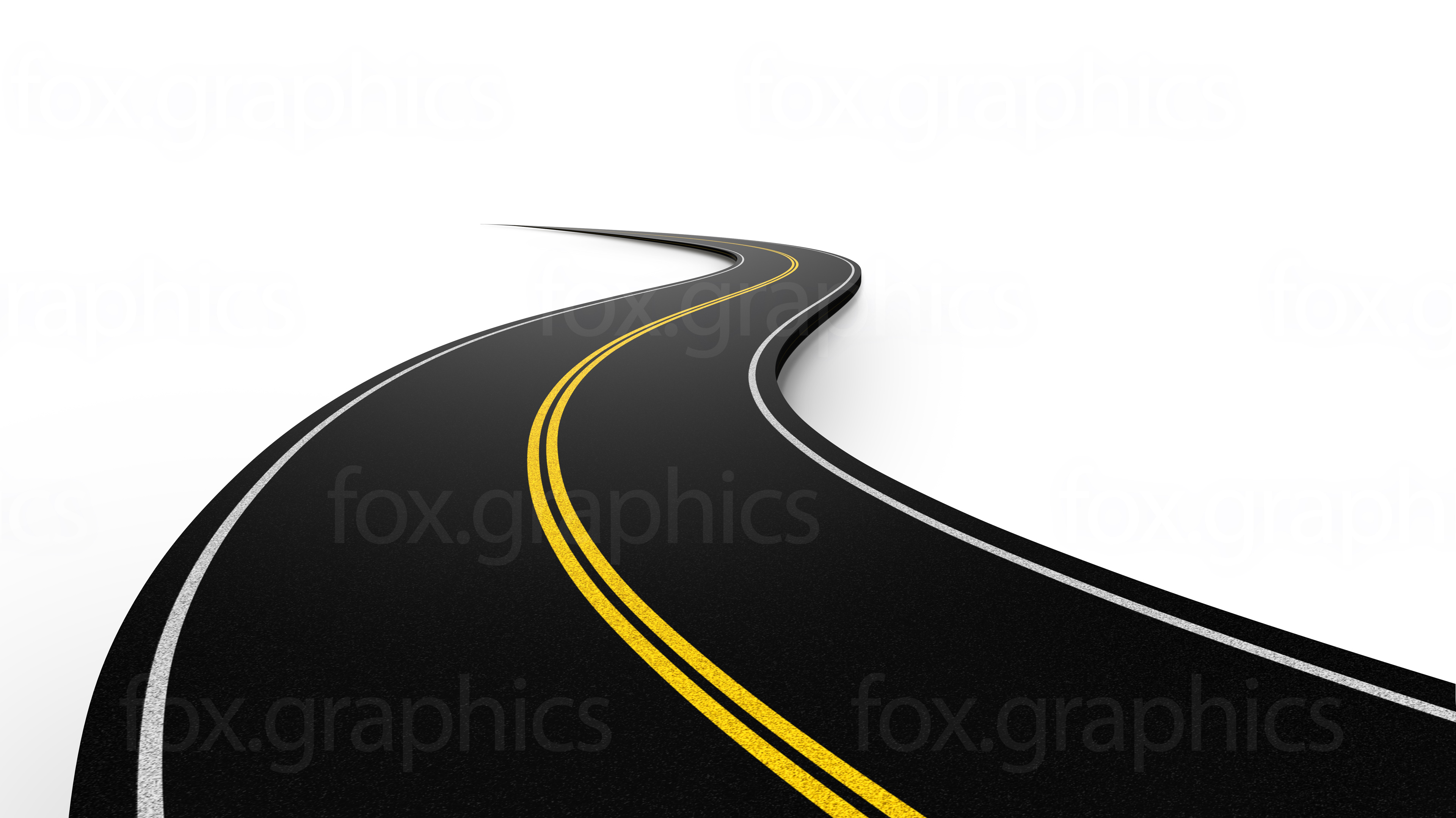 Road clipart horizontal road #11