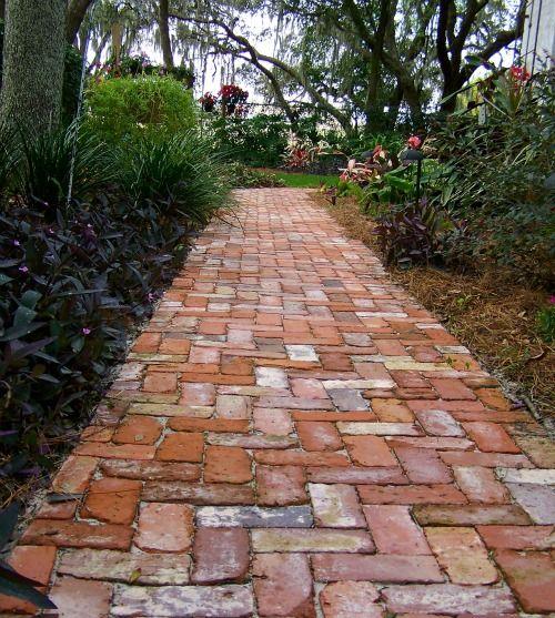 Pathway clipart brick path 20+  brick Red Best