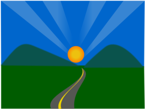 Pathway clipart bright future Clipart Future Clipart Free Images