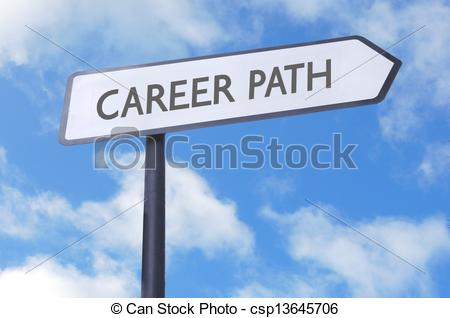 Path clipart career path Road csp13645706 path Career sign