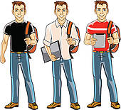 Pathway clipart college student College Art Student Royalty Clip
