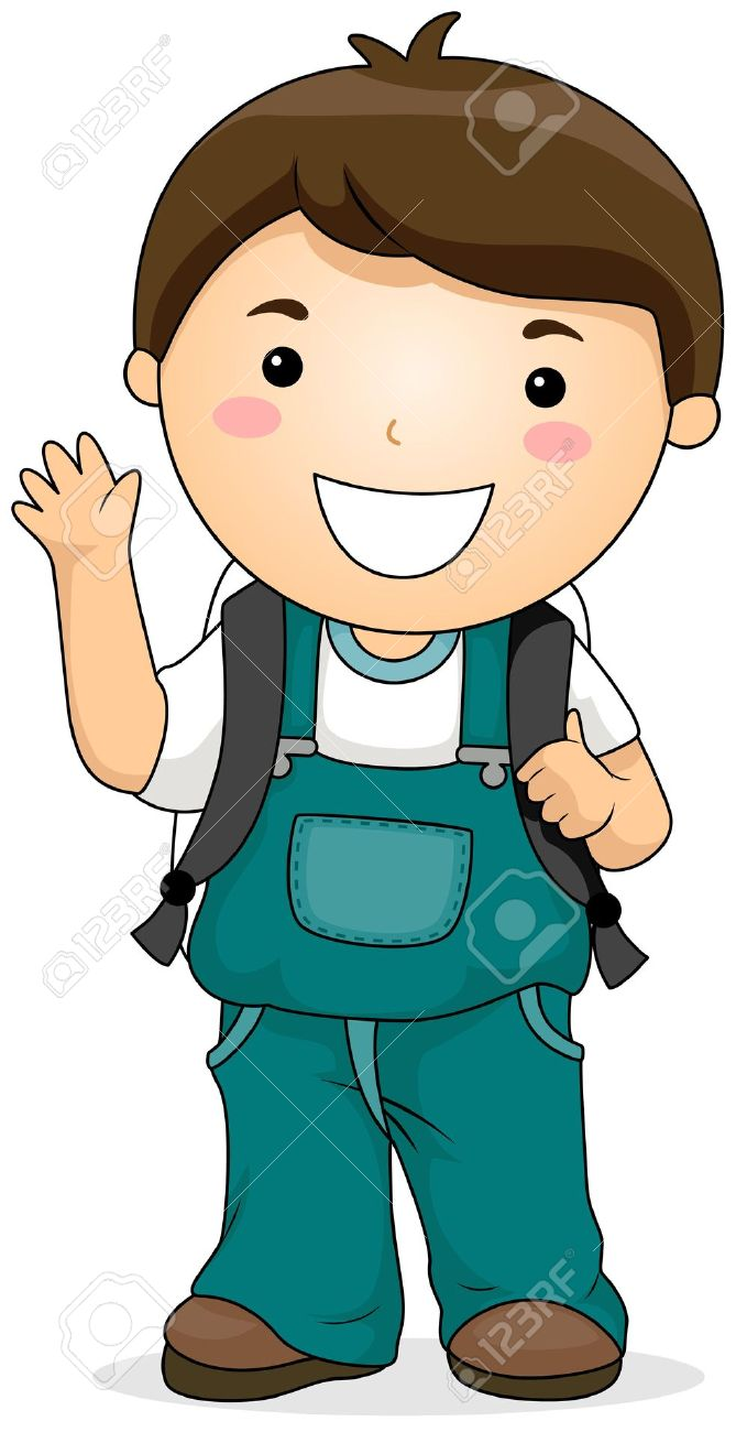 Pathway clipart confused kid Free Boy Clipart Boy Clipartwork